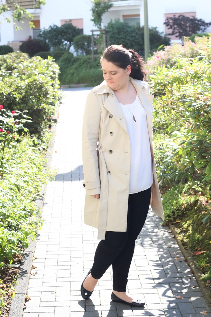 (Outfit) Trenchcoat & Jeans