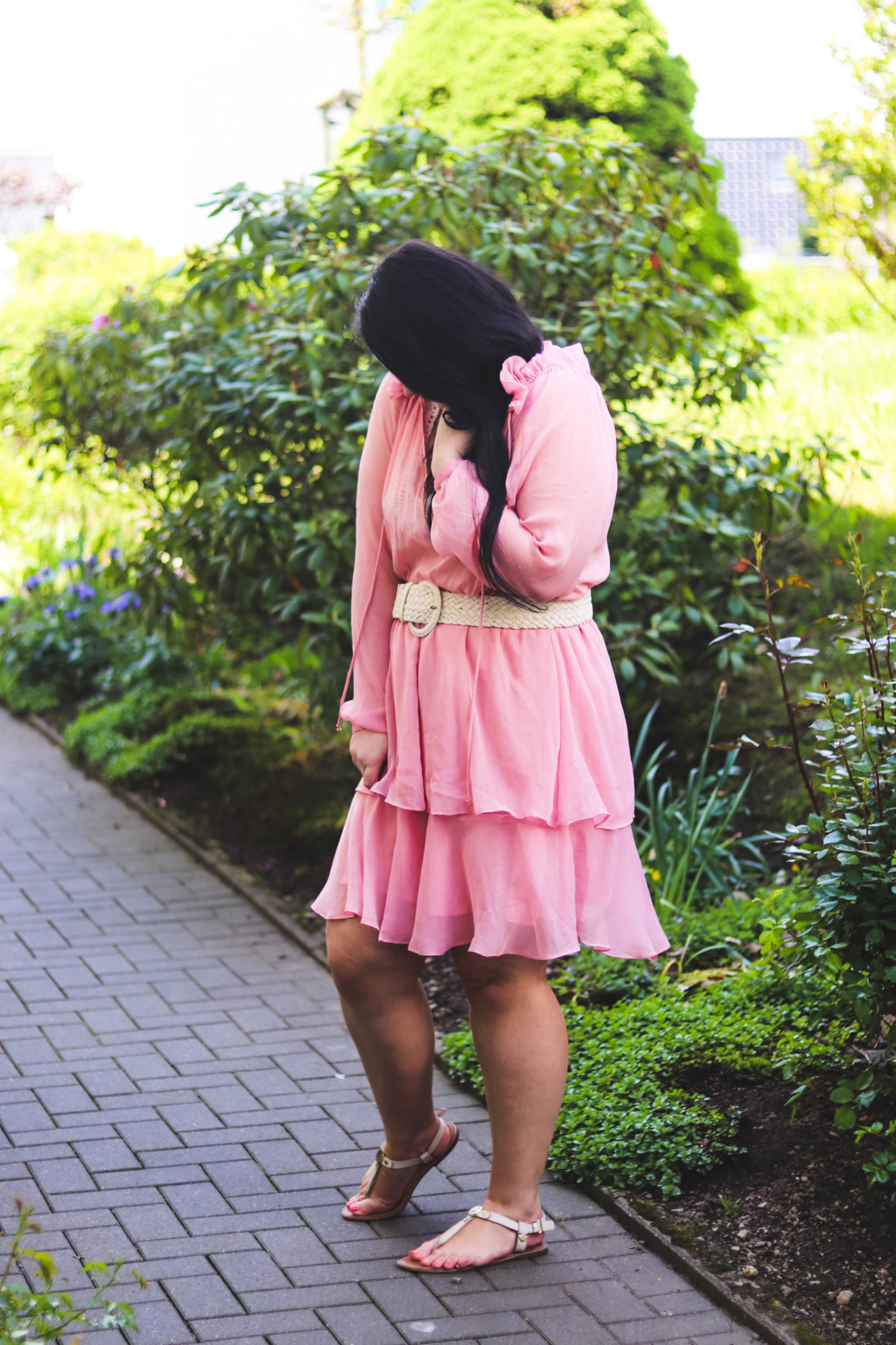 (Outfit) Pinkes Na-kd Kleid