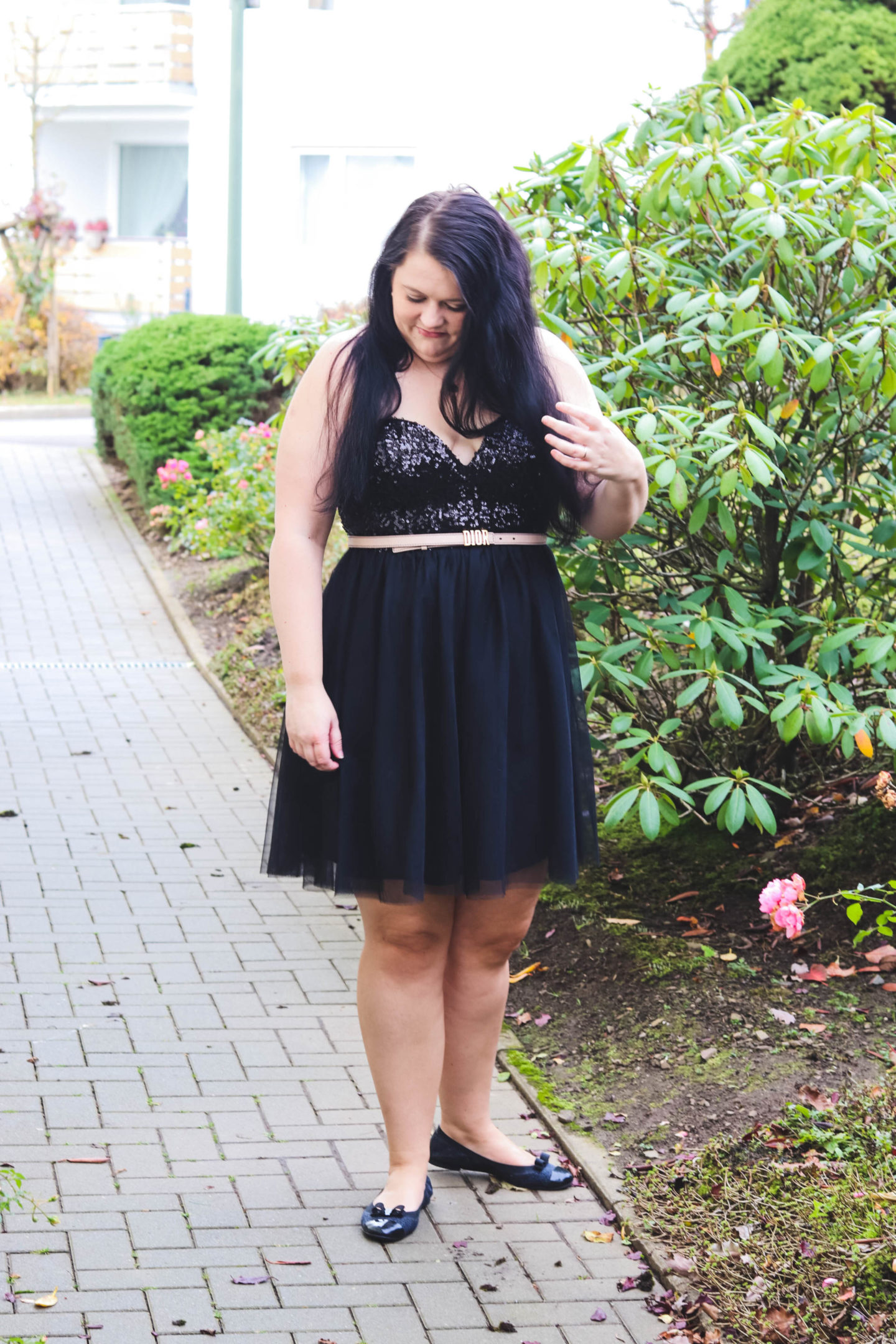 Silvester Look mit Glitter (Outfit)