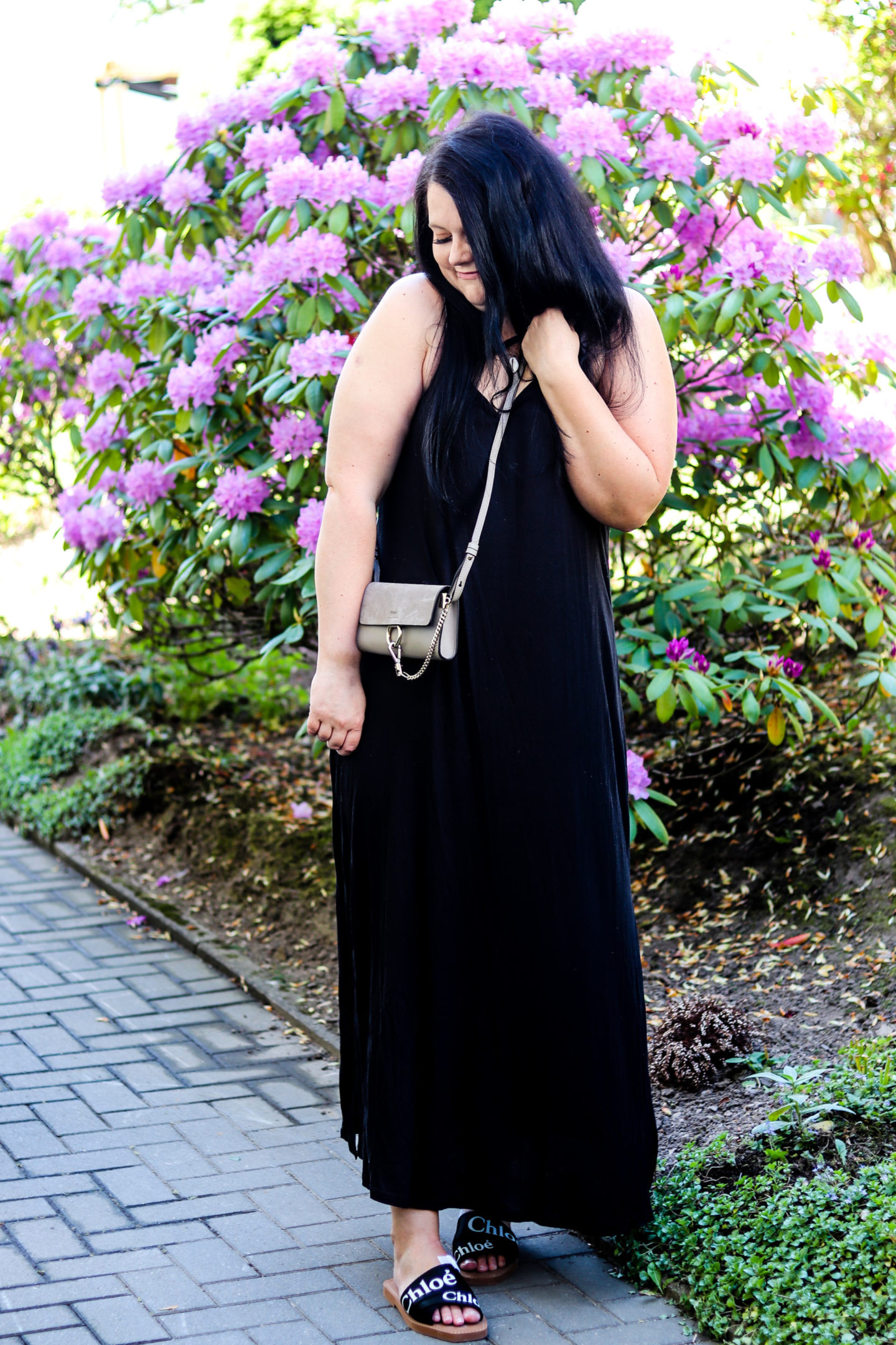 (Outfit)Maxi Slipdress