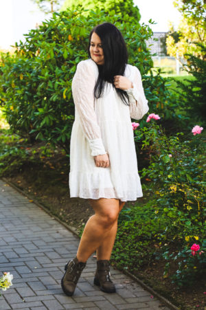 (Outfit) Kleid mit Boots