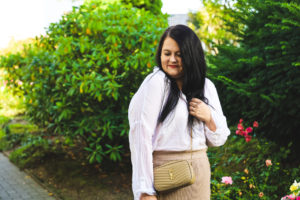 (Outfit) Strickrock im Herbst